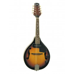 ML-003 Mandolino m.PU Sunburst, con F-fori e pick-up