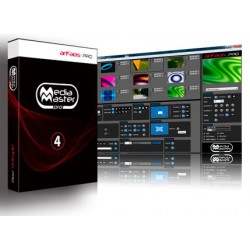 Arkaos Media Master Pro 4.0 Software DMX controllabile Media Server Video Mapping