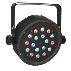 Spot Club LED Par 18/1 RGB fascio 25°