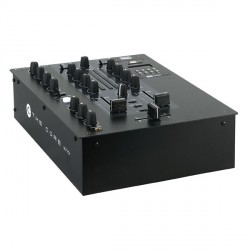 MIX Core-2 canali DJ mixer con DOPPIA interfaccia audio USB