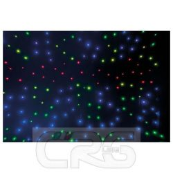 TENDA SFONDO Stardrape RGB LED fondale 3000x6000mm