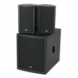 Club Mate II Set dj altoparlante attivo compatto con subwoofer 15 e satelliti 8 pollici