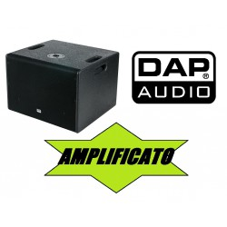 "SUBWOOFER DRX-12BA ATTIVO AMPLIFICATO woofer 12"" 600W"
